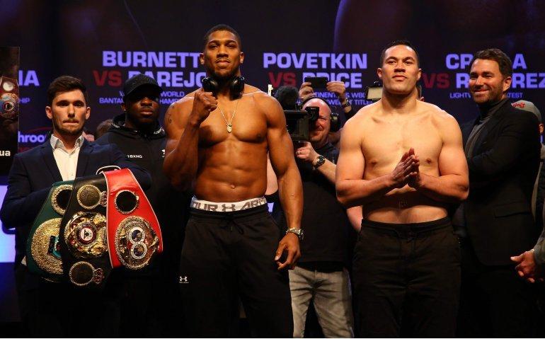 Titanenstrijd boksen Joshua vs Parker live op RTL 7