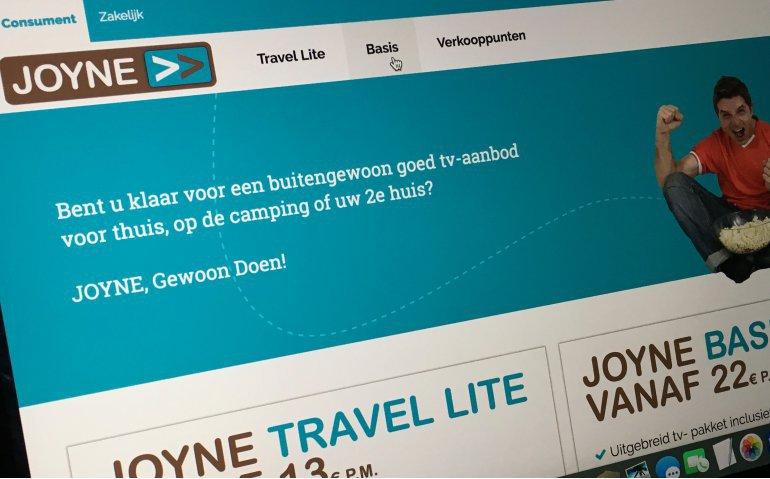 Joyne brengt Pluspakket officieel op de markt