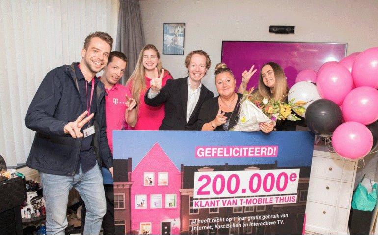 T-Mobile Thuis groeit naar 200.000 abonnees