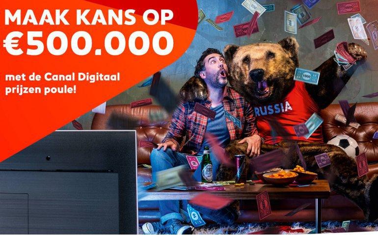Canal Digitaal geeft tot half miljoen euro in WK Prijzen Poule weg