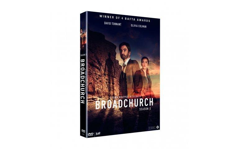 5X DVD BROADCHURCH