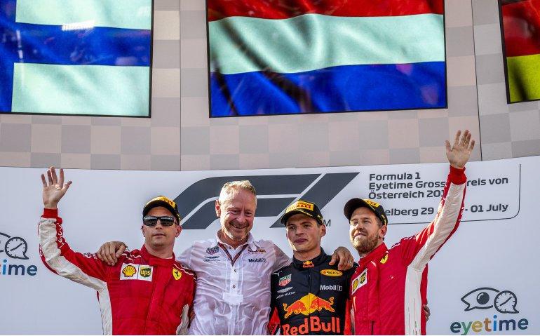 Veel Nederlanders zien Max Verstappen op Ziggo Sport winnen