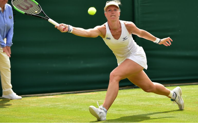 Kiki Bertens in kwartfinale Wimbledon live op Eurosport