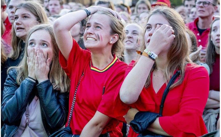 België ziet winst WK verdampen maar tv-kopers Krëfel maken nog wel kans