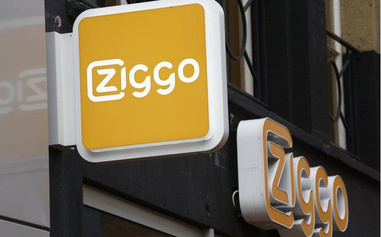 Ziggo lost storing telefoon op