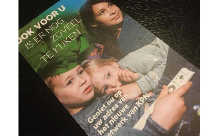 Geadresseerde huis aan huis-reclame KPN over 'nieuw netwerk' met VDSL halve waarheid