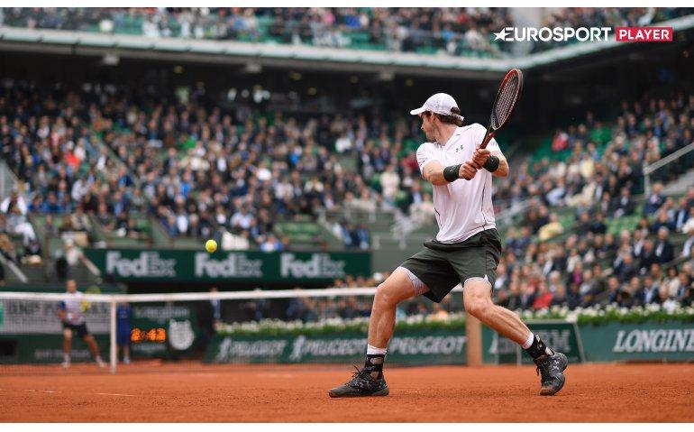 Eurosport pakt flink uit met Amerikaans tennis