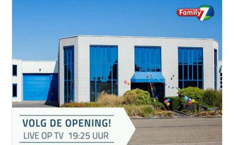 Minister Slob opent nieuw studiocomplex Family 7