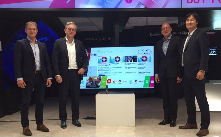 Eigenaar Canal Digitaal introduceert app voor LG televisies