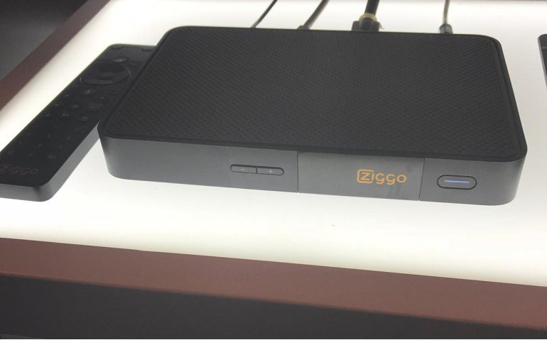 Ziggo presenteert 4K UHD cloud-based Mediabox