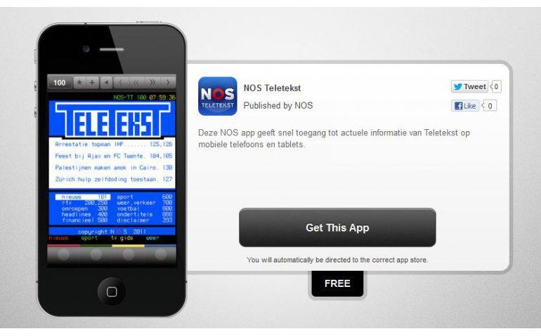 App voor NOS teletekst verbeterd