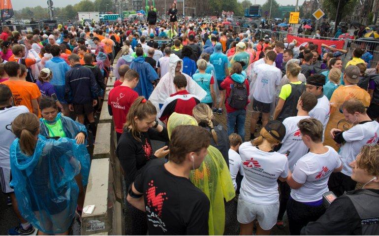 Marathon Amsterdam live op televisie en internet