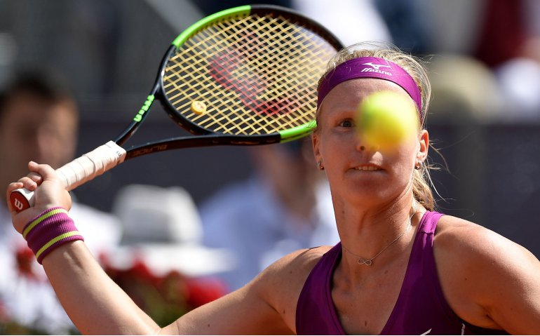 WTA Finals tennis met Kiki Bertens live op FOX Sports