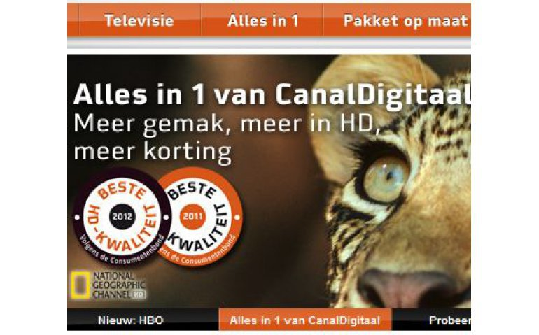 Canal Digitaal settopbox pakket vanaf 2019 HD Start