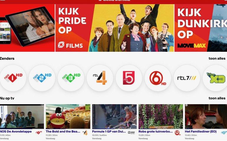 Canal Digitaal verbetert Smart TV App