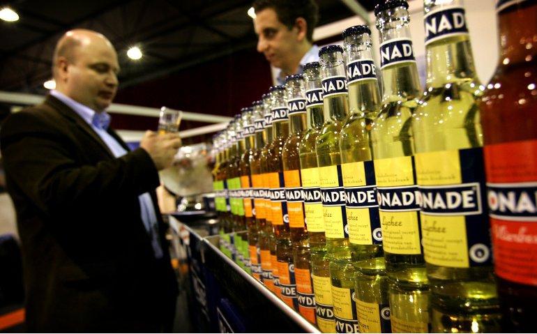 Alcoholverbod voor televisiezenders