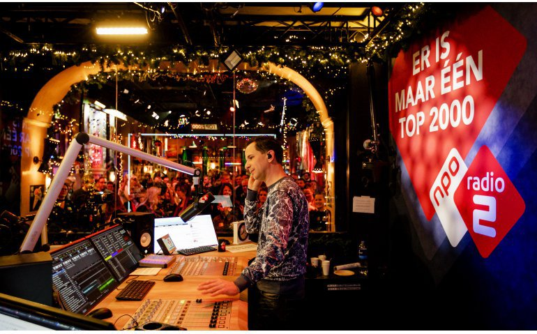 NPO Radio 2 Top 2000 op tv, radio en online