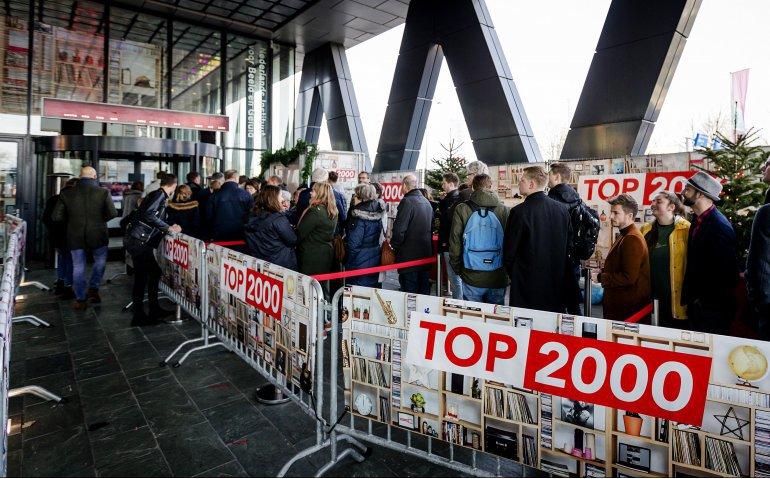 Laatste dag NPO Radio 2 Top 2000 live op televisie en radio