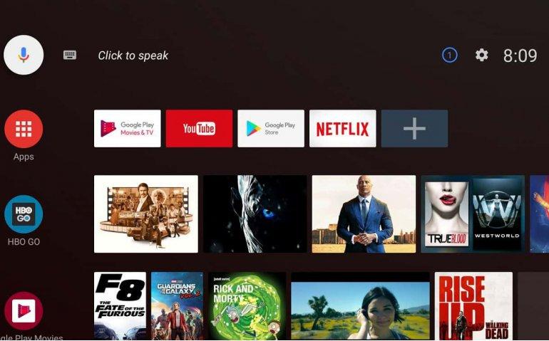 Verbeterde Android TV op nieuwe en oude Sony-televisies