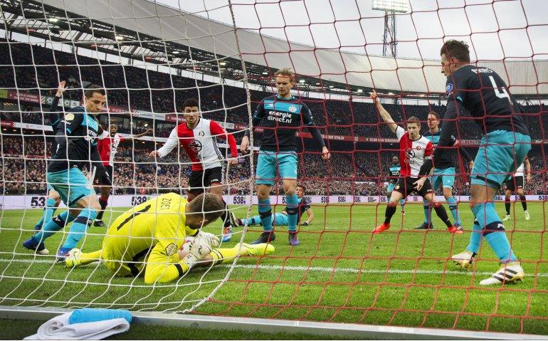 Voetbaltopper PSV – Feyenoord live op tv en radio
