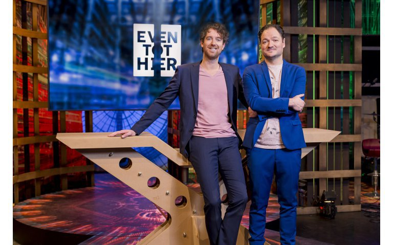 Niels van der Laan en Jeroen Woe
