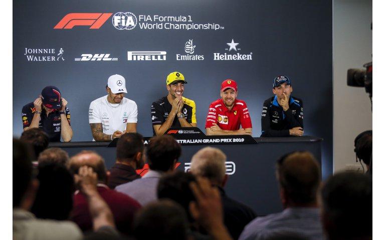 Op deze zender(s) kijk je de Formule 1 grand prix van Australië