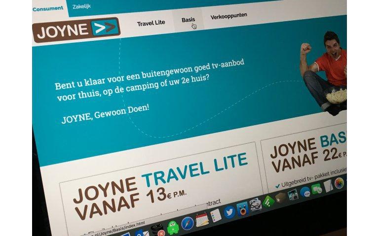 Joyne richt zich met lenteactie op nieuwe klanten