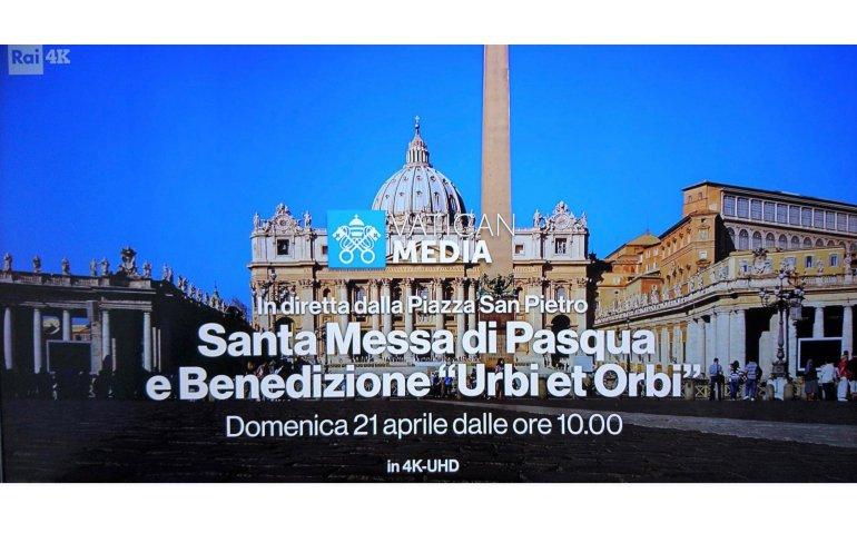 Paus met paasmis en Urbi et Orbi in 4K Ultra HD