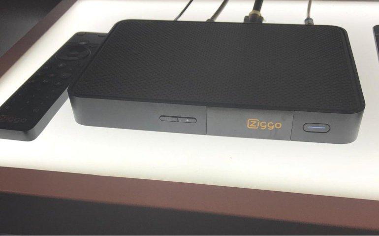 Belgische variant Ziggo Mediabox Next zonder extra maandelijkse kosten bij Telenet