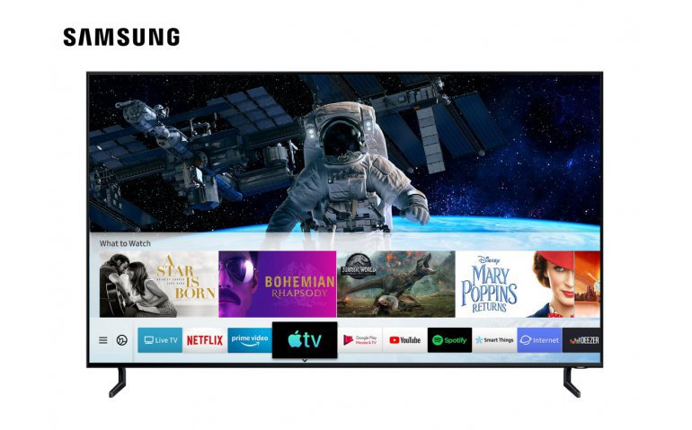 Apple TV en Airplay 2 op Samsung Smart TV