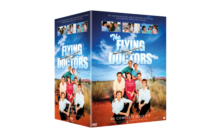 1X THE FLYING DOCTORS COMPLEET