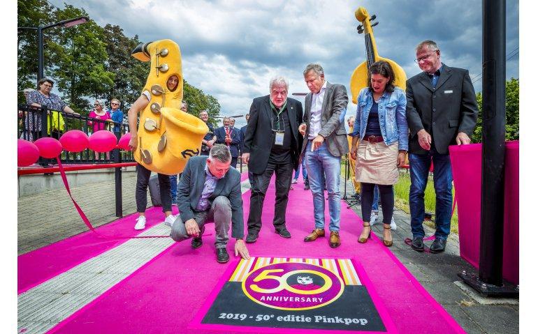 Jubileumeditie Pinkpop uitgebreid op tv en radio