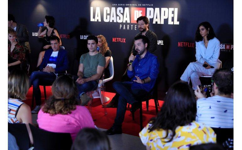 Netflix koopt vierde seizoen La Casa de Papel
