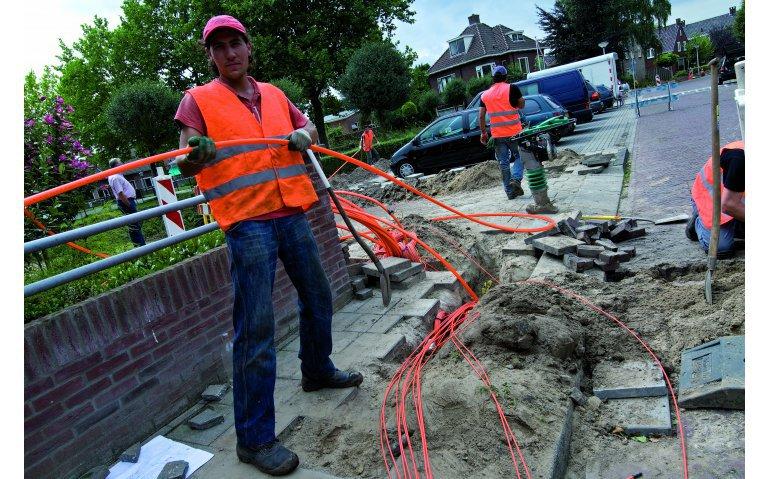 KPN valt Ziggo met glasvezel in grotere steden aan