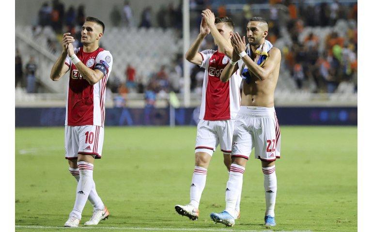 Voetbal Champions League play-off Ajax – APOEL Nicosia live op tv en radio