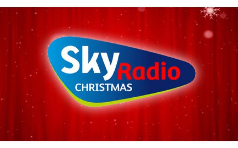 Sky Radio brengt kerstsfeer naar DAB+