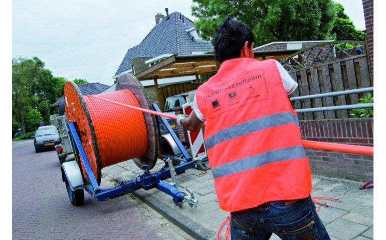 Concurrentie Ziggo in Den Haag begonnen: T-Mobile levert diensten via glasvezel