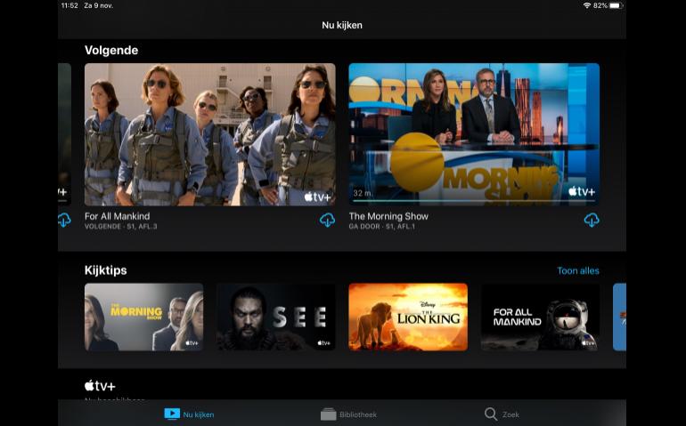 Apple TV+ moeizaam van start