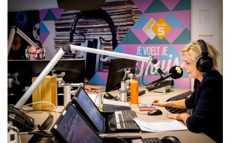 NPO Radio 5 studio