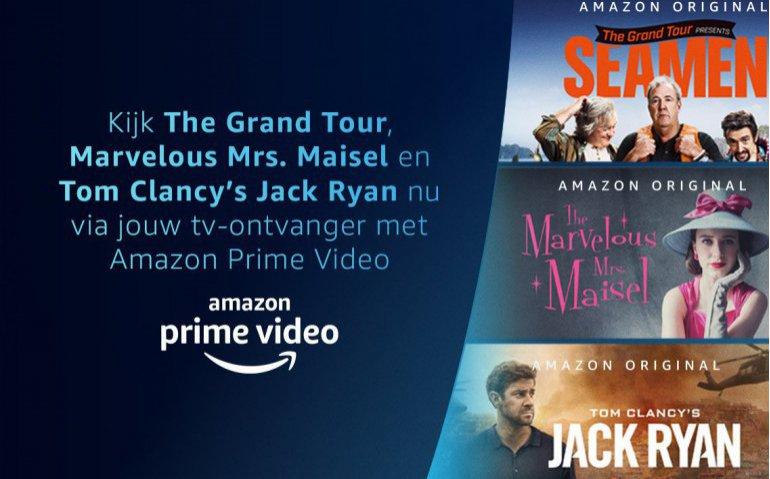 KPN Interactieve TV Amazon Prime Video