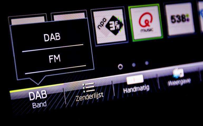 DAB  ontvangst radio