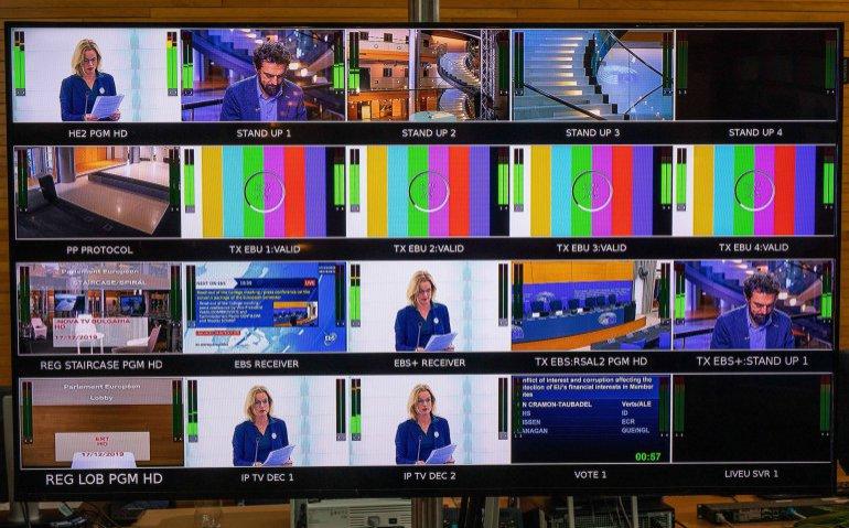 regiekamer televisie