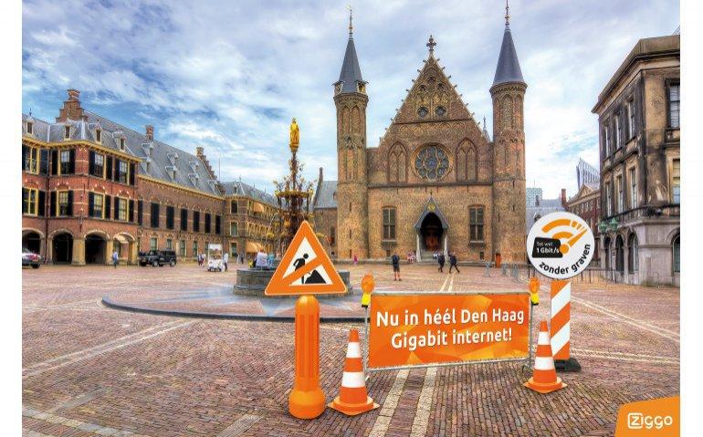 Ziggo Gigabit Den Haag Tweede Kamer VodafoneZiggo