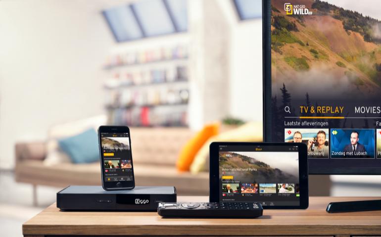 Ziggo, KPN en T-Mobile online tv