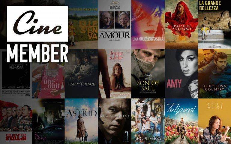CineMember: je arthouse aan huis