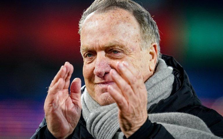 Feyenoord trainer Dick Advocaat