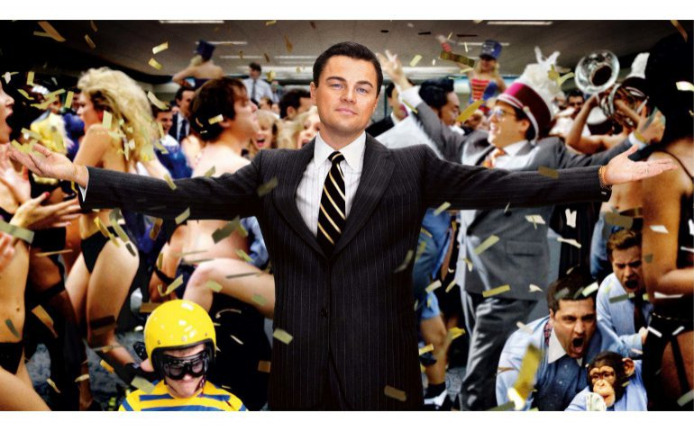 The Wolf of Wall Street op Film1