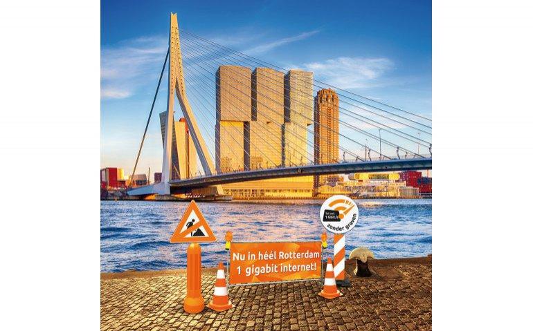 Ziggo Gigabit ook in Rotterdam