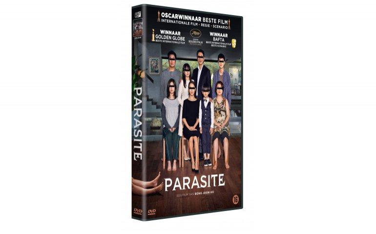 Win vijf keer de dvd van Parasite