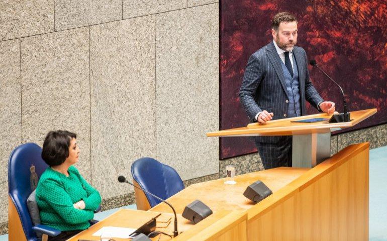 Klaas Dijkhof Tweede Kamer politiek
